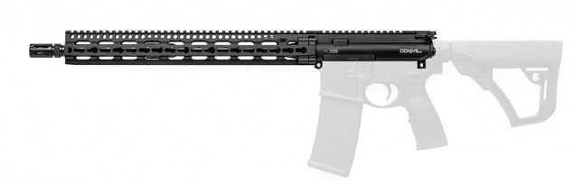 "Daniel Defense M4 Upper 223 Rem 556NATO 16"" Black 1:7 Light Weight Barrel 23000 23-151-02077-047"