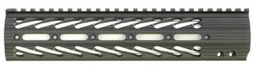 "Diamondhead USA, Inc. VRS-X Free-Floating Handguard Rail Black Free Floating AR-15 10.25"" 2111"