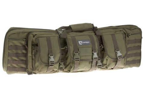 "Drago Gear Double Gun Case Dbl Rfl Cs OD Green 600D Polyester 42"" 12-323GR"