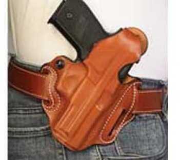 Desantis 001 Thumb Break Scabbard Belt Holster Right Hand Black FNH FNX-40 Leather 001BA30Z0