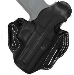 Desantis 001 Thumb Break Scabbard Belt Holster Right Hand Black Glock 29/30 Leather
