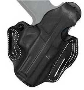 Desantis 001 Thumb Break Scabbard Belt Holster Right Hand Black XDM45 Lined 001BCX1Z0