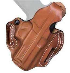 "Desantis 001 Thumb Break Scabbard Belt Holster Right Hand Tan S&W K-Frame 4"" 001TA14Z0"