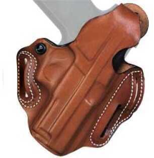 Desantis 001 Thumb Break Scabbard Belt Holster Right Hand Tan S&W Shield Leather