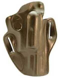 "Desantis 002 Speed Scabbard Belt Holster Right Hand Black 3"" Taurus Judge 2 1/2"" & 3"" Leather 002BAP5Z0"