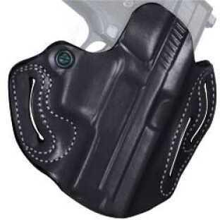 Desantis 002 Speed Scabbard Belt Holster Right Hand Black PPQ Leather