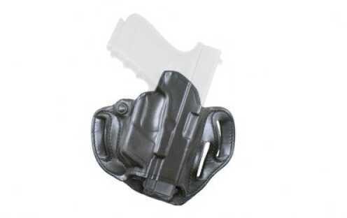 Desantis 002 Speed Scabbard Belt Holster Right Hand Black GLK 17/19/22/36 with Lightguard Leather 002BAX8Z0