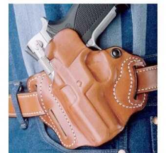 Desantis 002 Speed Scabbard Belt Holster Left Hand Black Glock 19,23,36 Leather 002BBB6Z0