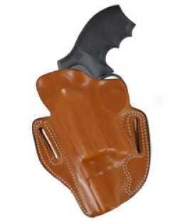 """Desantis 002 Speed Scabbard Belt Holster Left Hand Black 2.75"""" S&W Governor Leather 002BBV1Z0"""