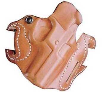 "Desantis 002 Speed Scabbard Belt Holster Right Hand Tan S&W N Frame 4"" 002TA44Z0"
