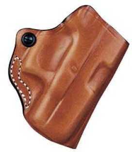 Desantis 012 The Maverick Belt Holster Right Hand Tan Keltec P3AT/Ruger LCP Leather 012TAR7Z0