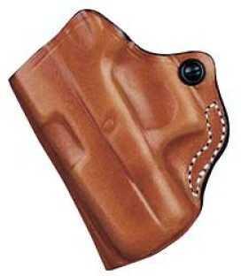 Desantis 012 The Maverick Belt Holster Left Hand Tan Keltec P3AT/Ruger LCP Leather 012TBR7Z0