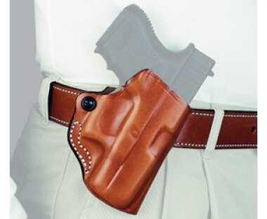 Desantis 019 Mini Scabbard Belt Holster Right Hand Black Glock 19,23,36 Leather 019BAB6Z0