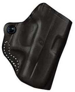 Desantis 019 Mini Scabbard Belt Holster Right Hand Black Glk 29/30 Leather 019BAE8Z0