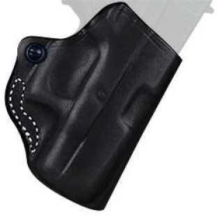 Desantis 019 Mini Scabbard Belt Holster Right Hand Black SR22/P22 Leather