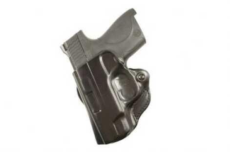 Desantis 019 Mini Scabbard Belt Holster Left Hand Black S&W Shield Leather 019BBX7Z0