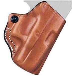 Desantis 019 Mini Scabbard Belt Holster Right Hand Tan S&W M&P Shield w LM 019TAH8Z0 019TAG9Z0