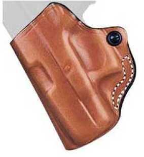 Desantis 019 Mini Scabbard Belt Holster Left Hand Tan Springfield XDS 019TBY2Z0 019TBY1Z0