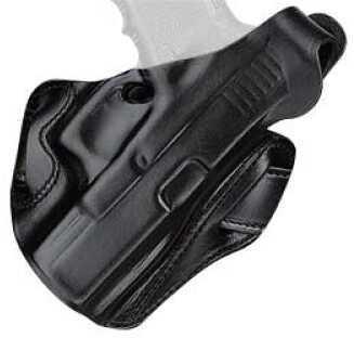 Desantis 01LB FAMS Holster Right Hand Black Glock 19, 23 Leather