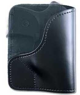 Desantis 021 Trickster Pocket Holster Ambidextrous Black Beretta Jetfire Leather