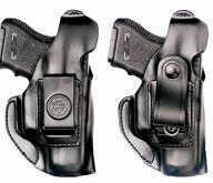 Desantis 026 Companion Belt Holster Right Hand Black Glock 19, 23 Leather