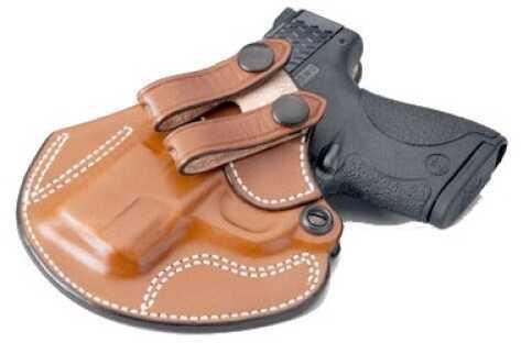 Desantis 028 Cozy Partner Inside the Pant Left Hand Tan S&W Shield Leather 028TBX7Z0