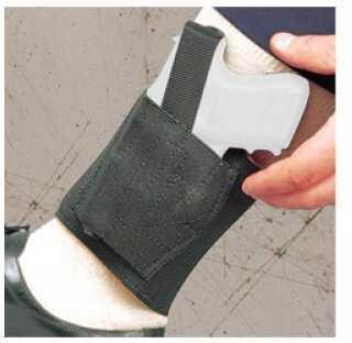 Desantis Apache Ankle Holster Fits Diamondback DB380 Kahr P380 Sig P238 Left Hand Black Leather 062BBI5Z0