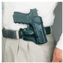 Desantis 068 Sky Cop Belt Holster Right Hand Black S&W J-Frame Leather