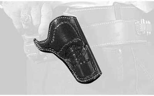 "Desantis 083 Doc Holiday Cross Draw Holster Right Hand Black SAA 3 1/2"" Lined 083tc54z0"
