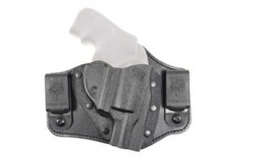 Desantis Intruder Inside The Pant Holster Fits Ruger LCR Right Hand Leather & Black Kydex 105KAN3Z0