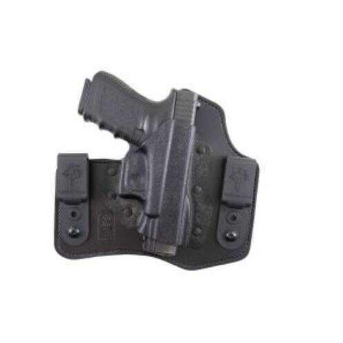 Desantis Intruder Inside The Pant Holster, Fits Glock 43, Left Hand, Leather & Black Kydex 105Kb8BZ0