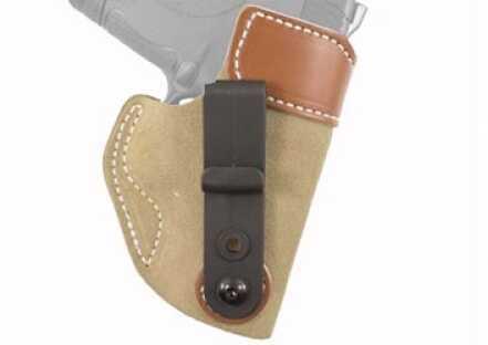 Desantis 106 Sof-Tuck Inside the Pant Right Hand Tan S&W Shield Leather 106NAI4Z0