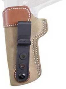 Desantis 106 Sof-Tuck Inside the Pants Holster Left Hand Natural 1911 Government 106NBB6Z0 106NB85Z0