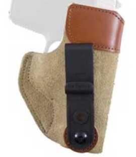 Desantis 106 Sof-Tuck Inside the Pant Left Hand Tan Kahr 9,40/ Keltec P11/ Taurus 709 Slim/ S&W Shield Leathe 106NBD6Z0