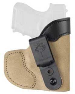 "Desantis 111 Pocket-Tuk Pocket Holster Right Hand Tan Kahr PM9/40/45, 1911 3"", Ruger LC9, Sig P290 Leather/Ky 111NAMKZ0"