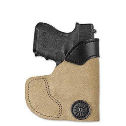 Desantis 111 Pocket-Tuk Pocket Holster Right Hand Natural Fits Glock 42 Leather 111NAY8Z0