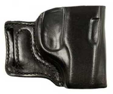Desantis 115 E-GAT Slide Belt Holster Right Hand Black Ruger LCR Leather