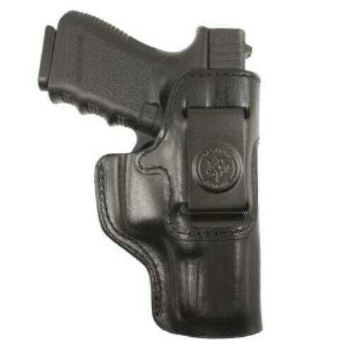 Desantis Inside Heat Inside The Pant, Fits Glock 43, RightHand, Black Leather 127BA8BZ0