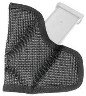 Desantis M38 Mag-Packer Magazine Pouch Ambidextrous Black SGL Stock 25, 32CAL Nylon M38BJBBZ0