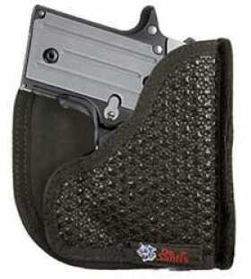 Desantis M44 Superfly Pocket Holster Ambidextrous Black Kahr PM9,PM40,MK9,MK40 Nylon