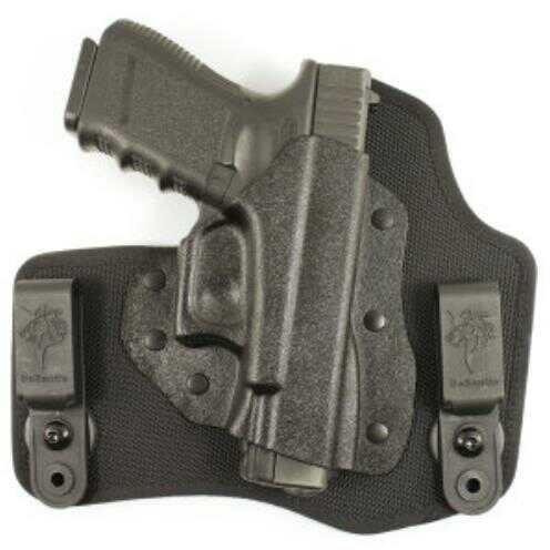 Desantis Invader Inside The Pant Holster, Fits S&W M&P 9/40, Right Hand, Black Nylon M65KAM9Z0