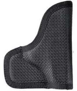 "Desantis N38 The Nemesis Pocket Holster Ambidextrous Black 2.75"" S&W Bodyguard .380 Nylon N38BJU7Z0"