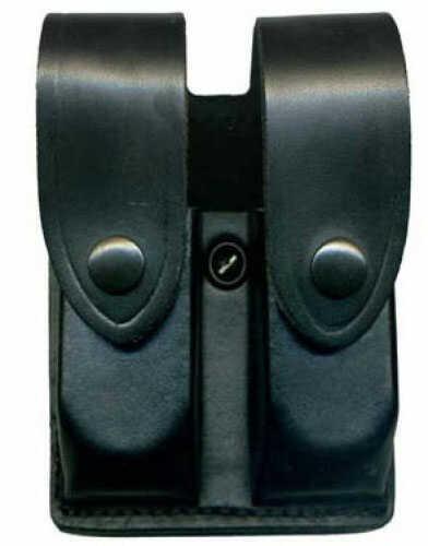 Desantis U41 Double Magazine Pouch Magazine Pouch Ambidextrous Black Double Mag Glock9/40 Leather