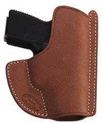 El Paso Saddlery El Paso Pocket Max Pocket Holster Ambidextrous Natural Kahr PM9,PM40,MK9,MK40 PMPM9