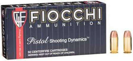 Fiocchi Ammo Fiocchi Ammunition Fiocchi Centerfire Pistol, 45ACP Ammo, 200 Grain, XTPnd Noseetal Jacket 25 Rounds