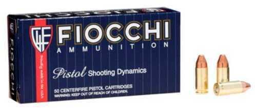 Fiocchi Ammo Fiocchi Ammunition Fiocchi Centerfire Pistol, 9MM Ammo 115 Grain, Complete Metal Jacket 50 Ro 9APCMJ