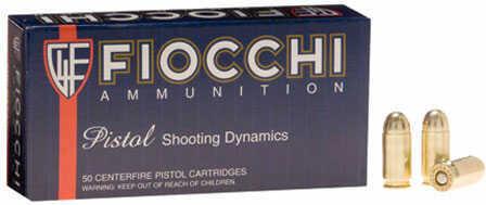 Fiocchi Ammo Fiocchi Ammunition Fiocchi Centerfire Pistol, 9MM Ammo, 147 Grain, XTPl Metal Jacket, Subsonic 9XTPB 9XTPB25