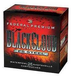 "Federal Cartridge 12 Gauge Shotshells Black Cloud, 3.5"", 1.5oz, #4, (Per25) PWB1344"