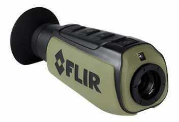 FLIR Systems FLIR Scout II, FLIR Scout Series Thermal Camera, With WhiteHot, BlackHot, And InstAlert. FLIR Digita