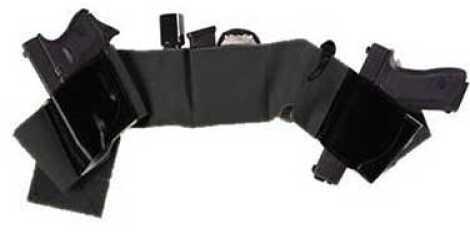 Galco International Belly Band Underwraps Holster Black XL (48-52) UWBKXL